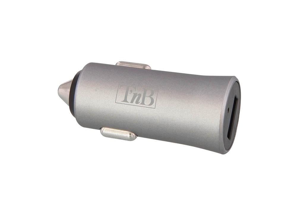 2.4A 1-PORT USB CAR CHARGER:GREY