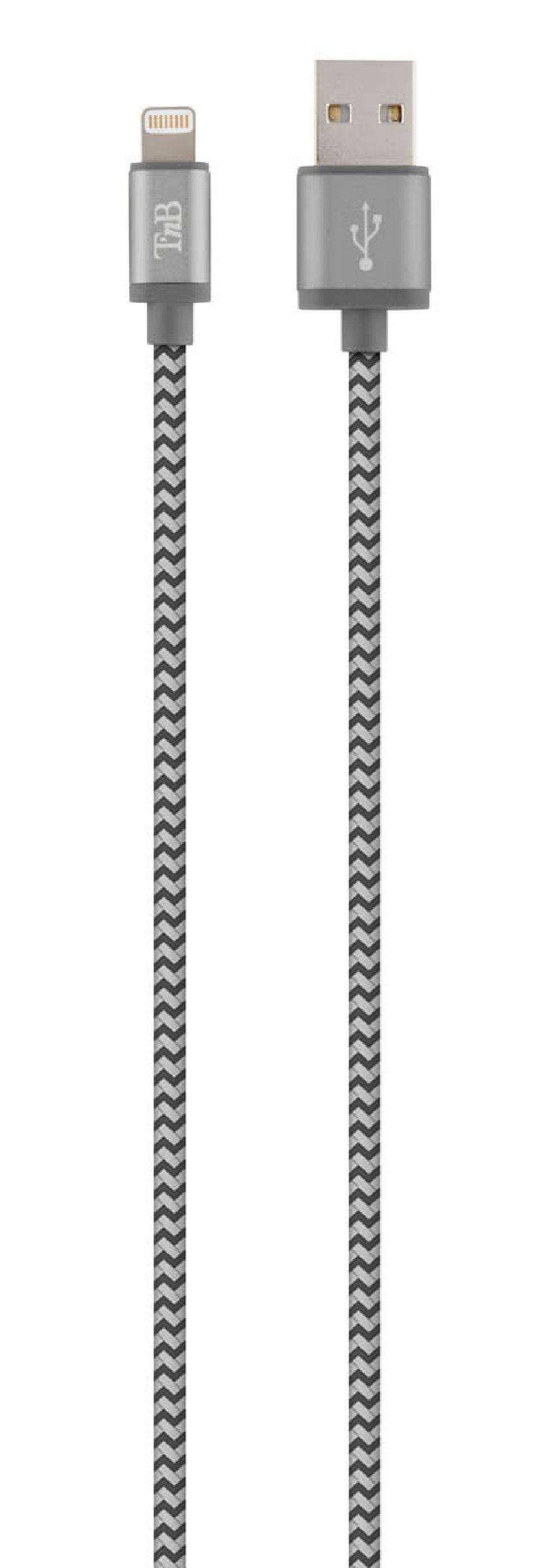 CABLE USB/LIGHTNING 1M