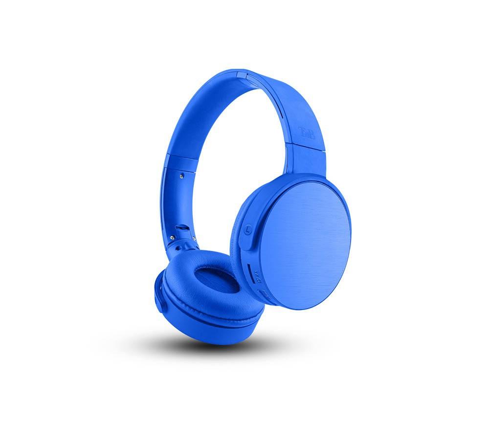 SHINE BLUE BLUETOOTH HEADPHONES