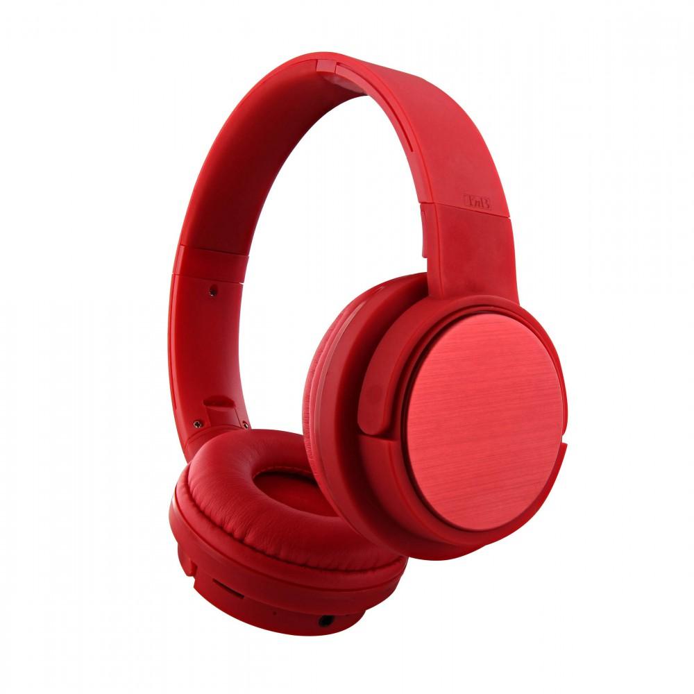SHINE RED BLUETOOTH HEADPHONES