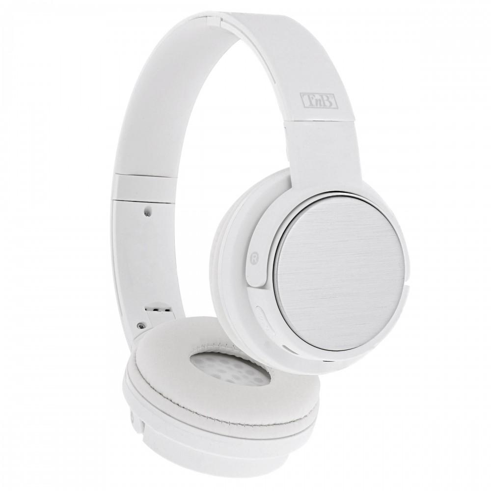 SHINE WHITE BLUETOOTH HEADPHONES