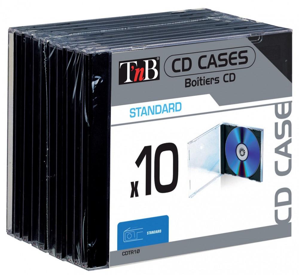STANDARD CD CASES X10
