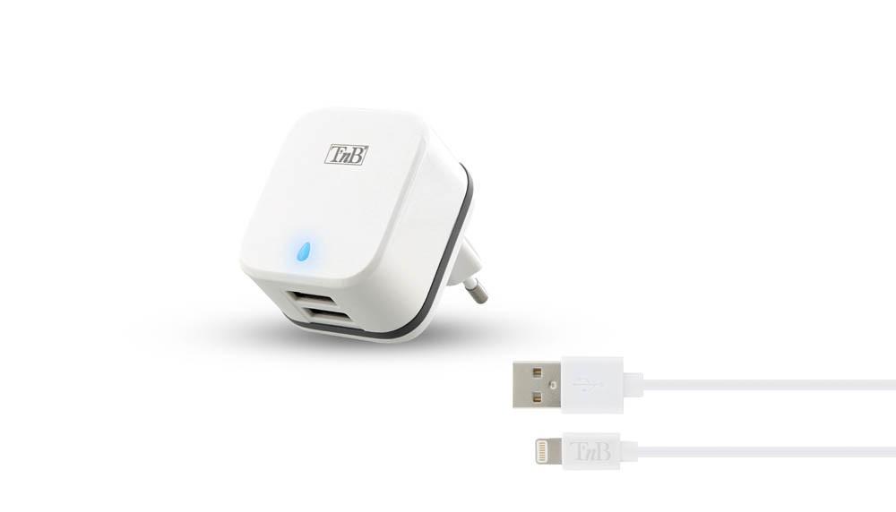 CHARGEUR SECTEUR 3.4A 2 USB