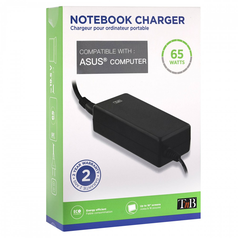CHARGEUR NOTEBOOK65W POUR ASUS