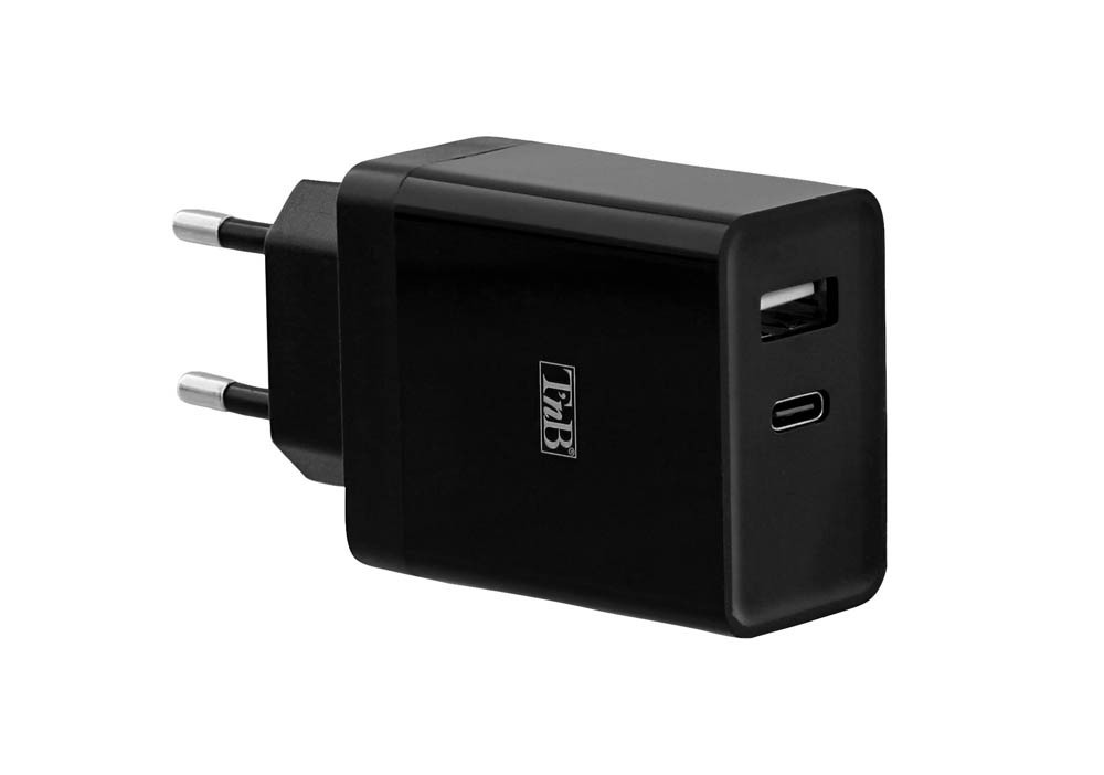 CHARGEUR USB-C PD + USB-A 30W