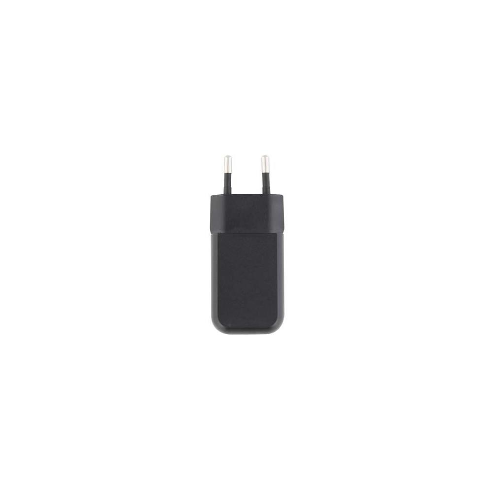 CHARGEUR SECTEUR USB NOIR 1A