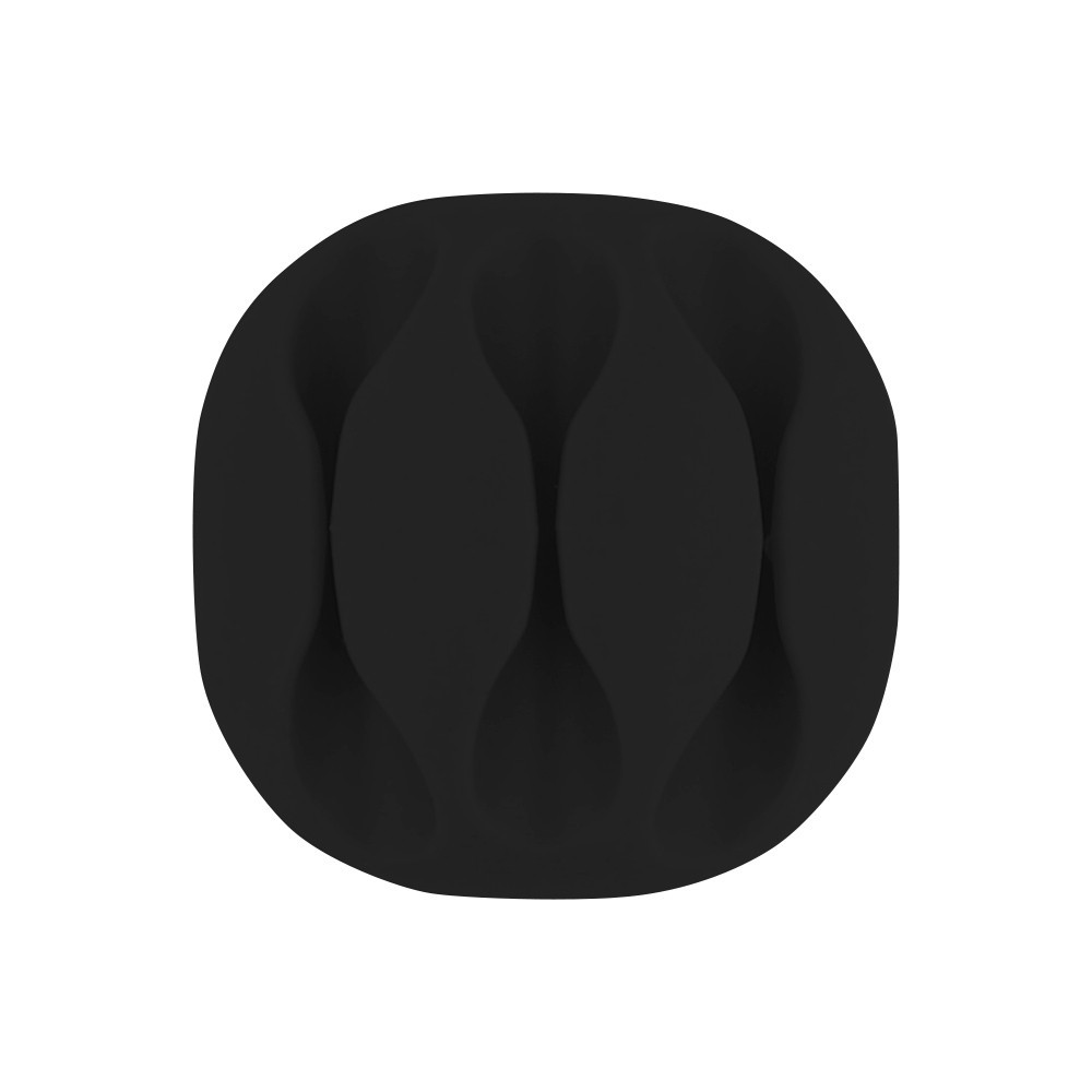PASSE-CABLES X3-NOIR-PACK DE 4