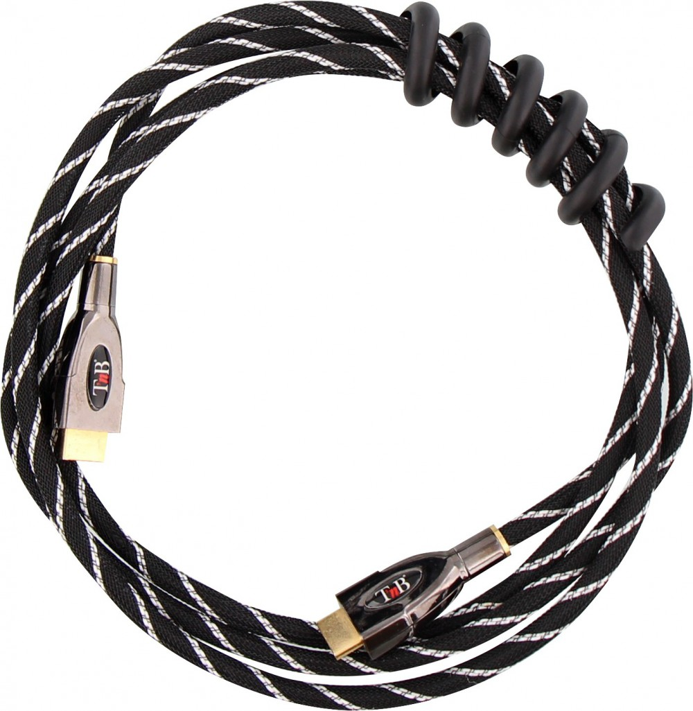 RANGE CABLES TWIST-NOIR-PACK 2