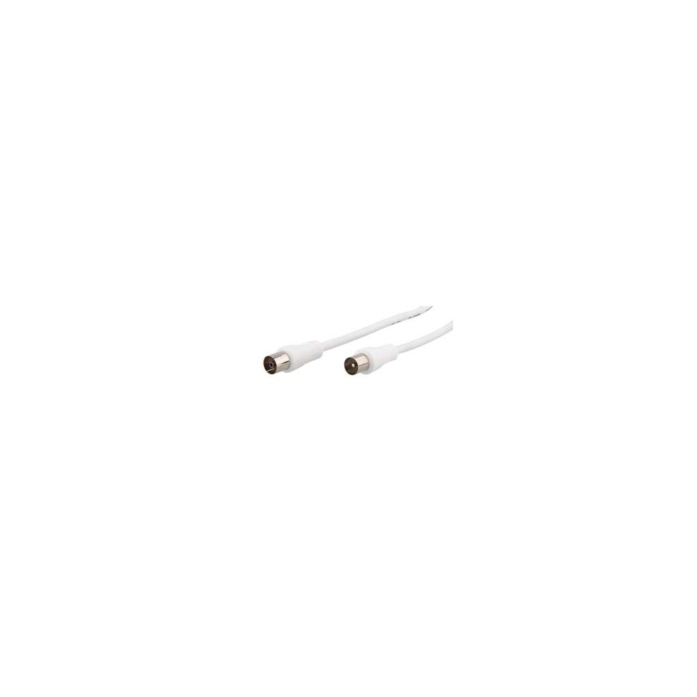 COAXIAL CABLE 9MM MALE/MALE 2M