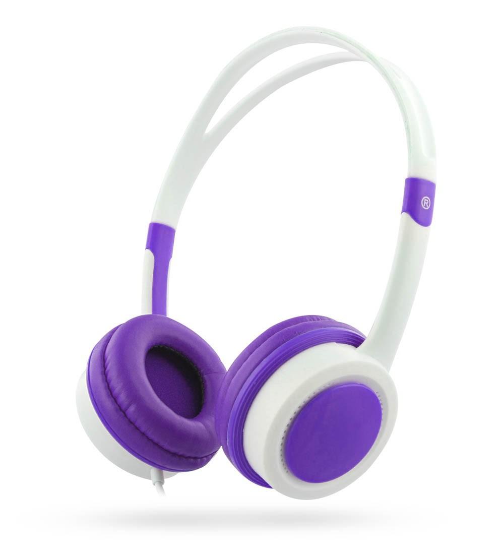 PURPLE STEREO HEADPHONE FOR KIDS - 85 DB