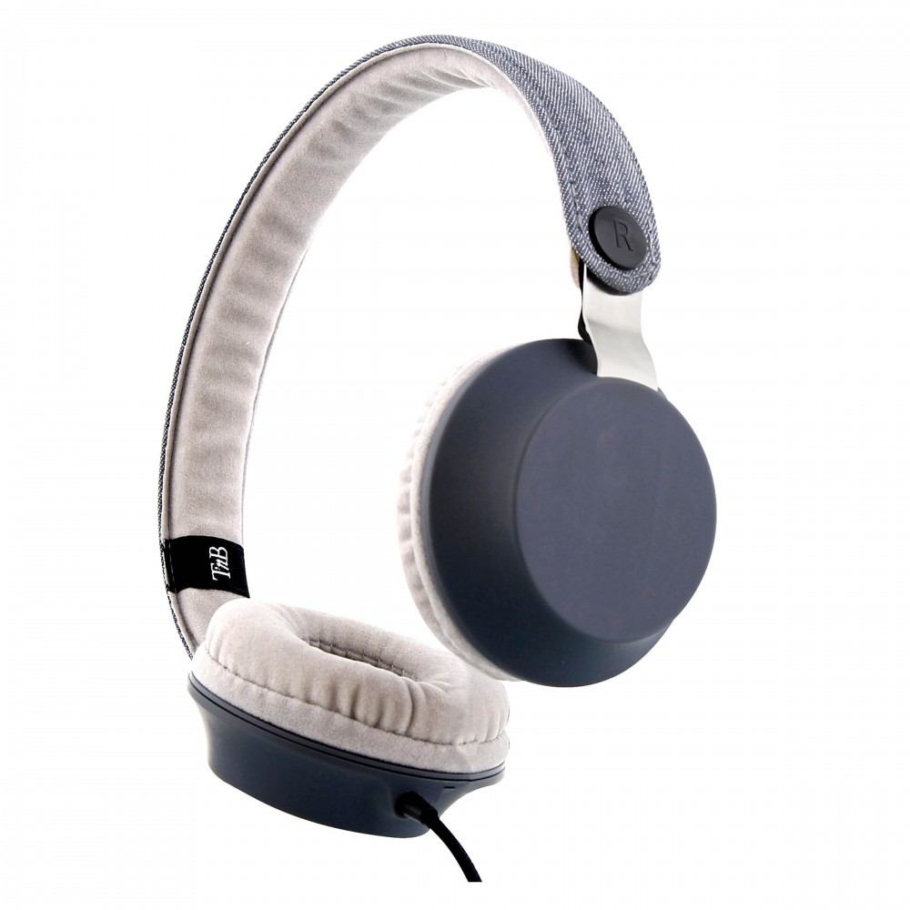 CASQUE STEREO LEGEND GRIS