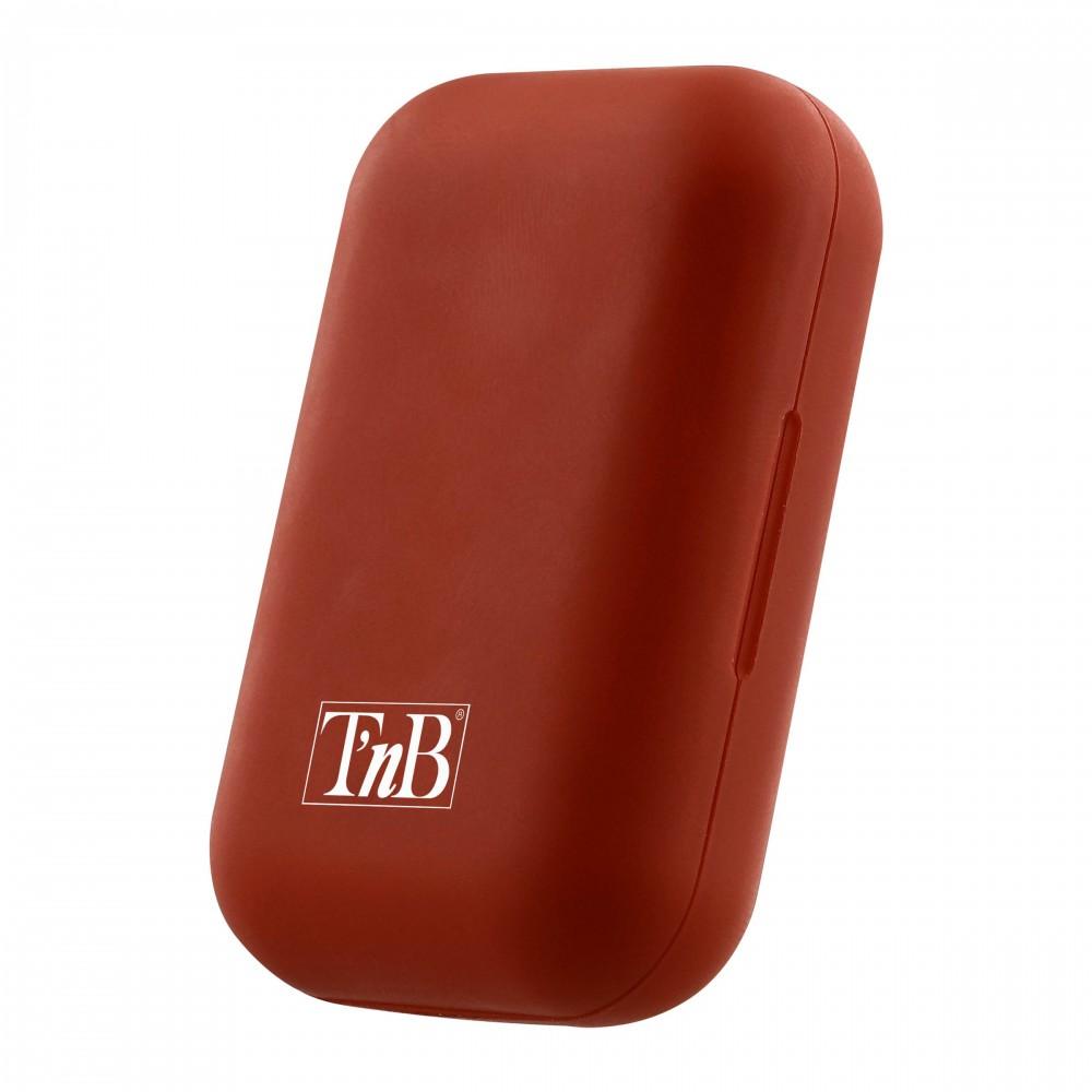 RED SHINY TWS EARPHONES