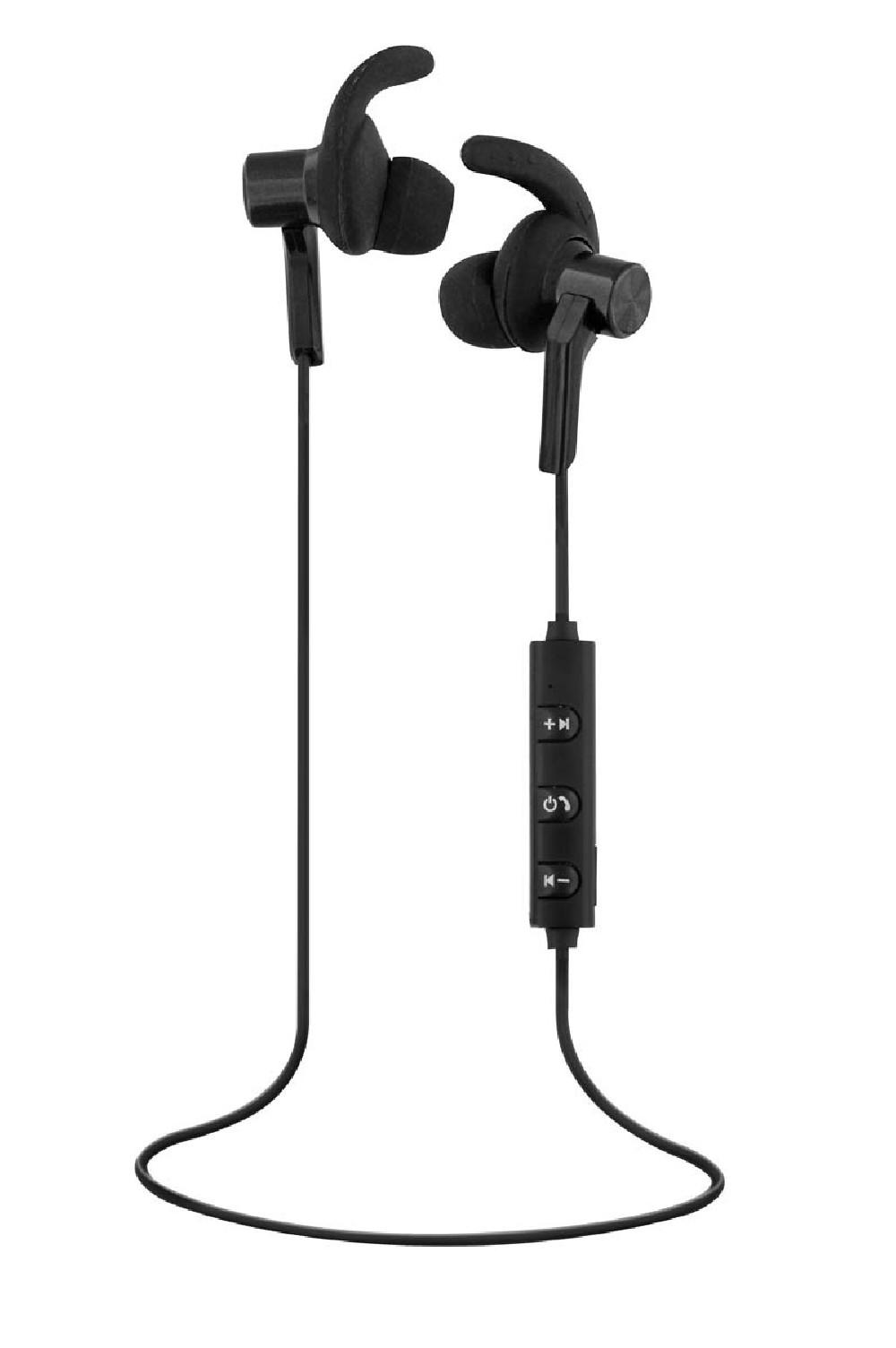 SPORT BLUETOOTH EARPHONES - BLACK
