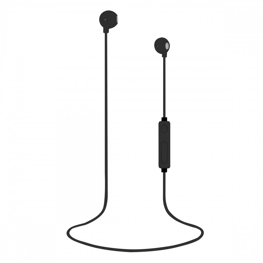 BLACK BT SWEET EARPHONES + MIC