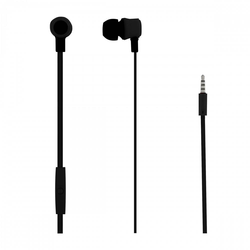 MOOD BLACK EARPHONES - ON THE RD