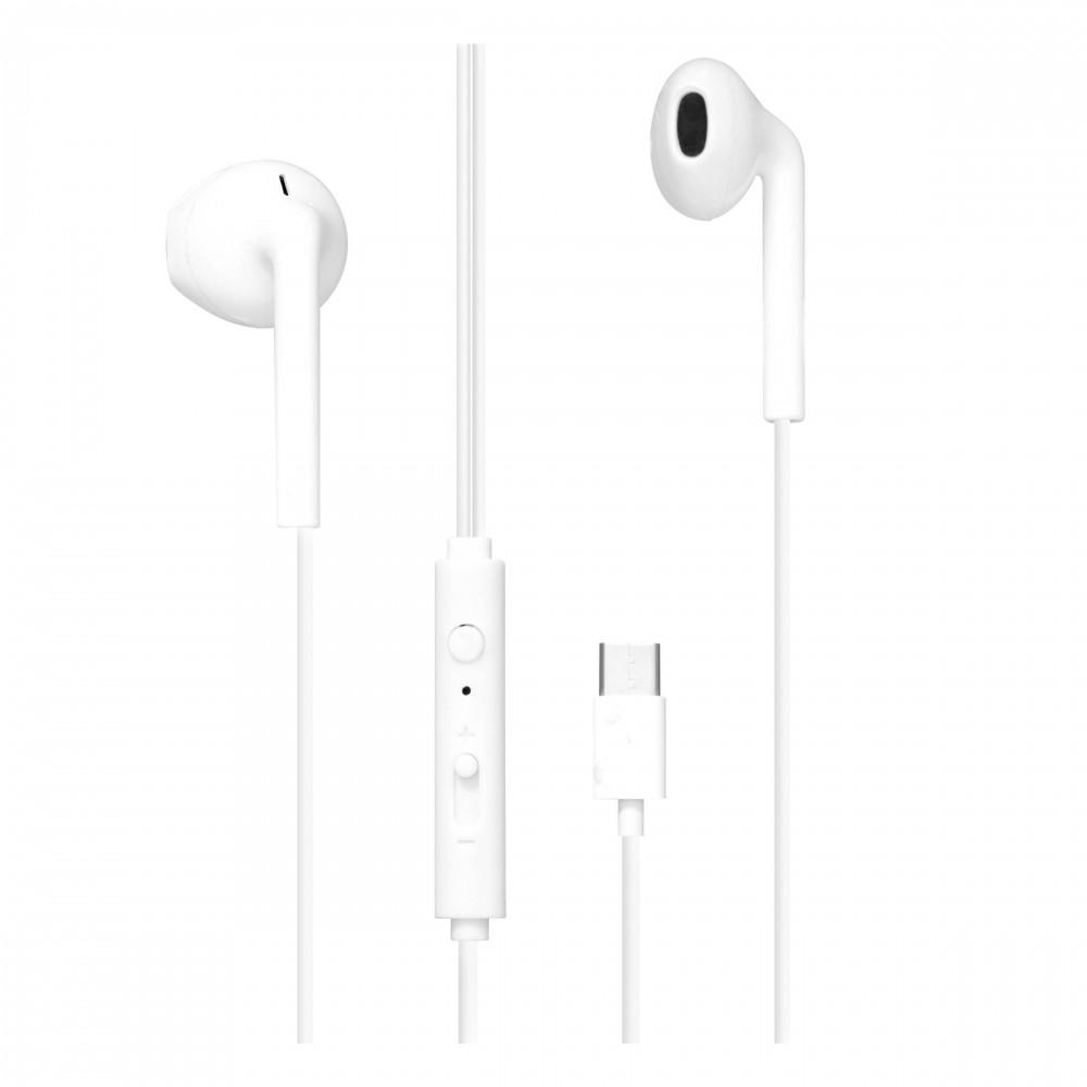 WHITE USB C EARPHONES