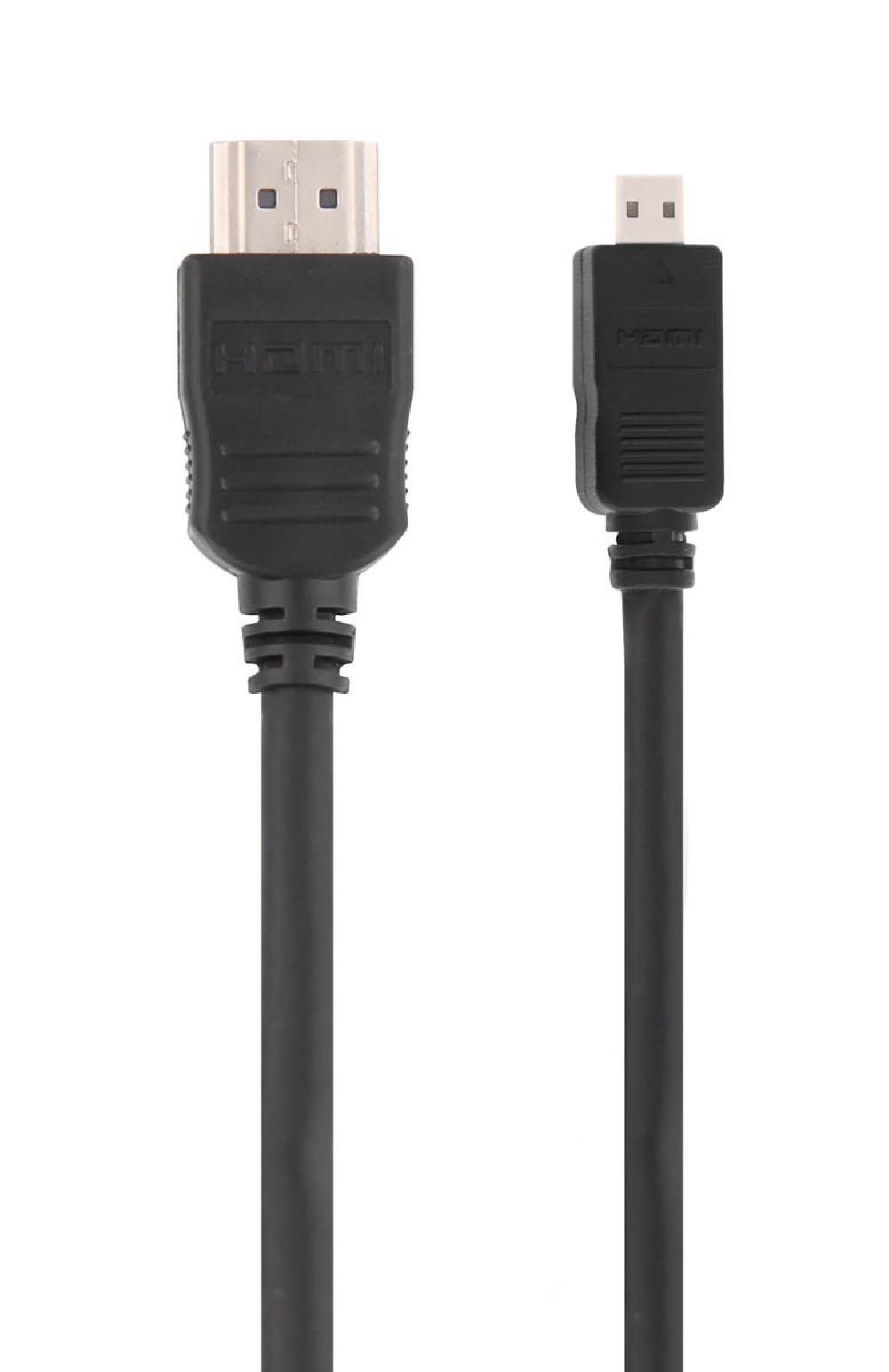 CABLE HDMI / MICRO HDMI 2M