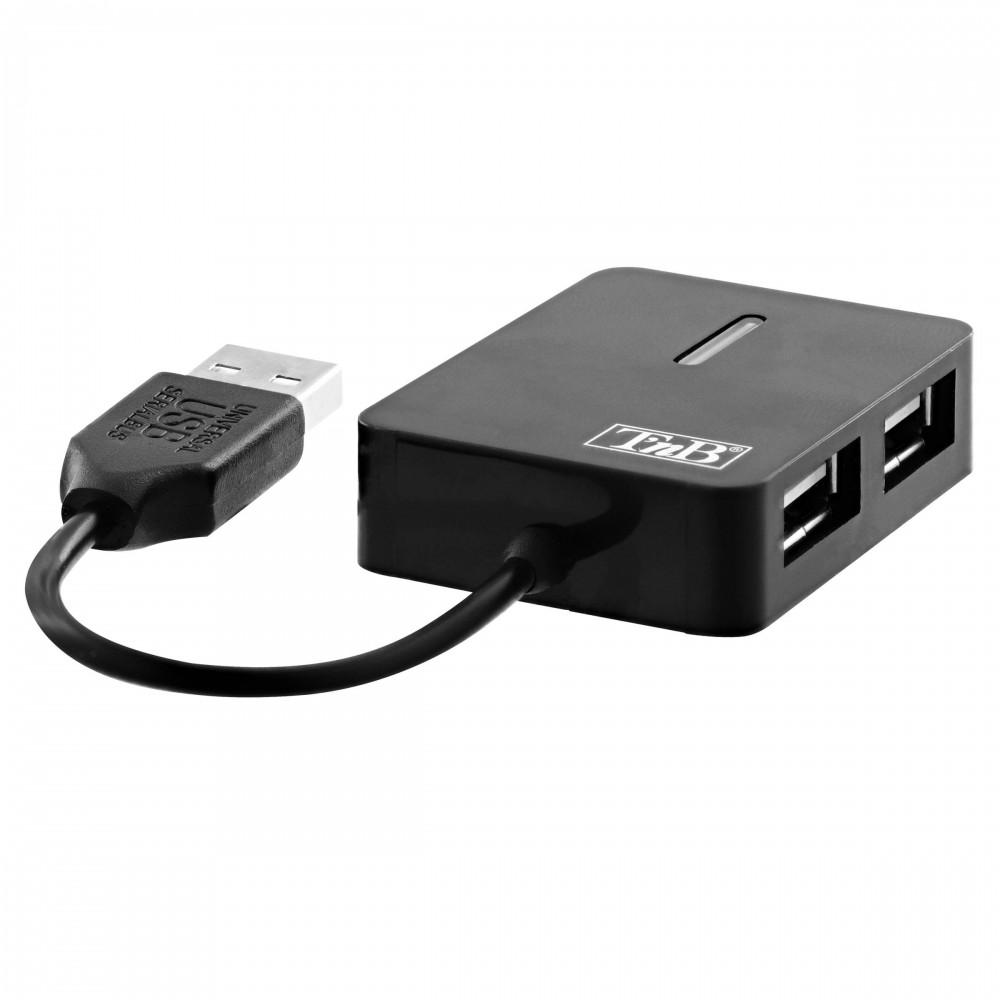 HUB USB2.0 FIRST CLASS NOIR