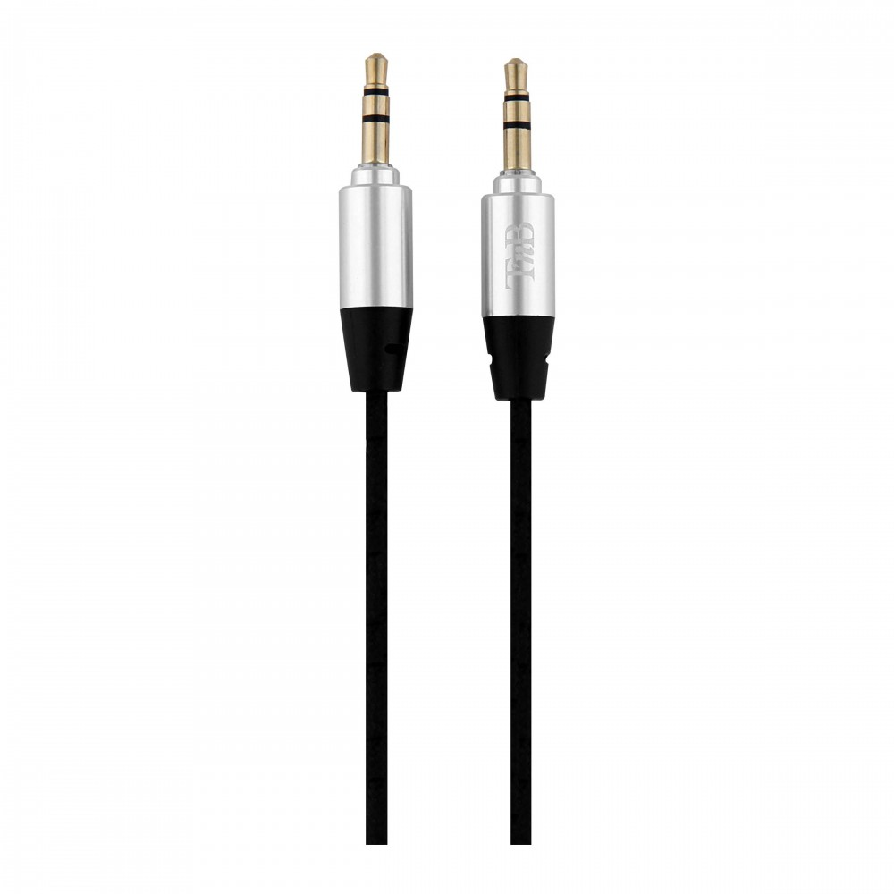 3.5MM GOLD AUDIO JACK CABLE M/M 3M