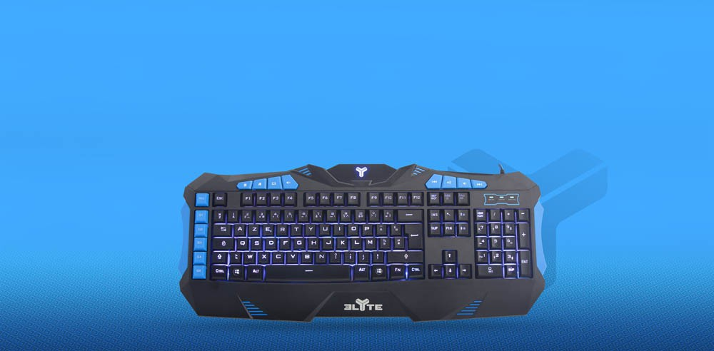 ELYTE GAMING BACKLIT KEYBOARD