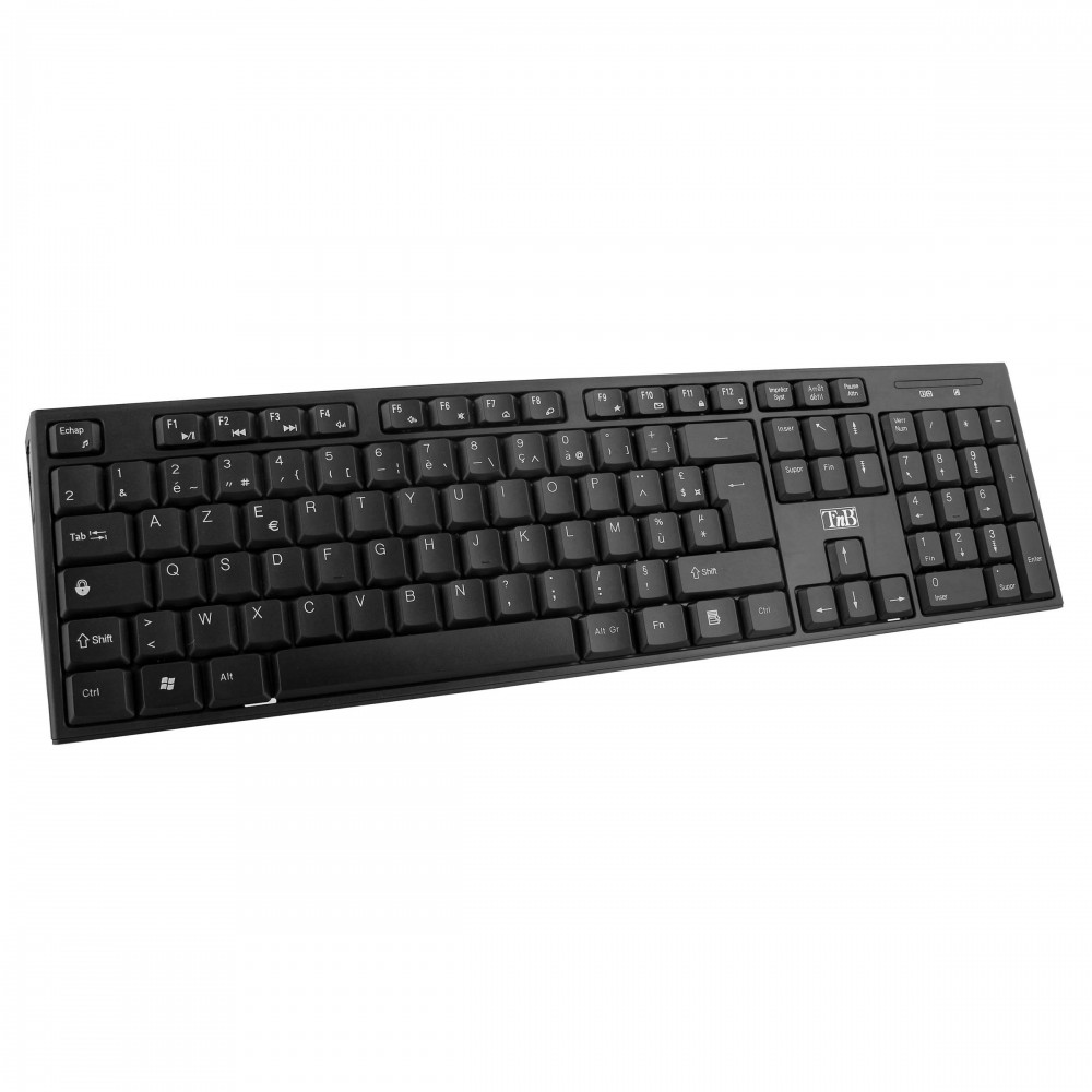 CLASSY BLACK WIRELESS KEYBOARD