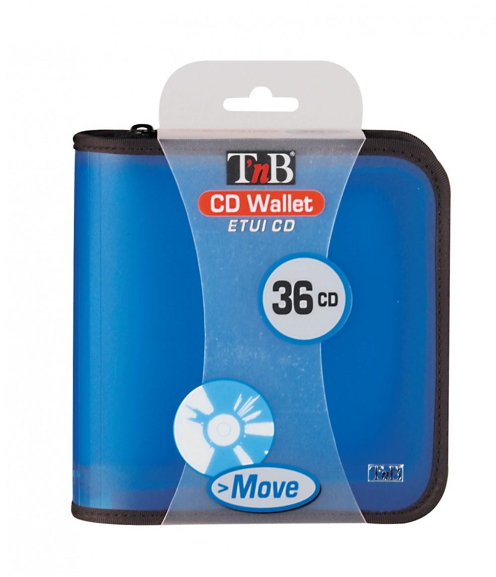 MOVE COLOR, CASE 36CDs, BLUE