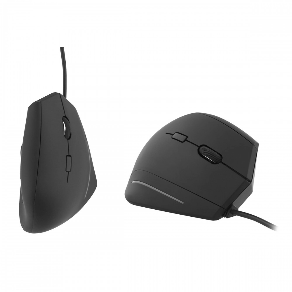 ERGONOMIC VERTICAL WIRED MOUSE