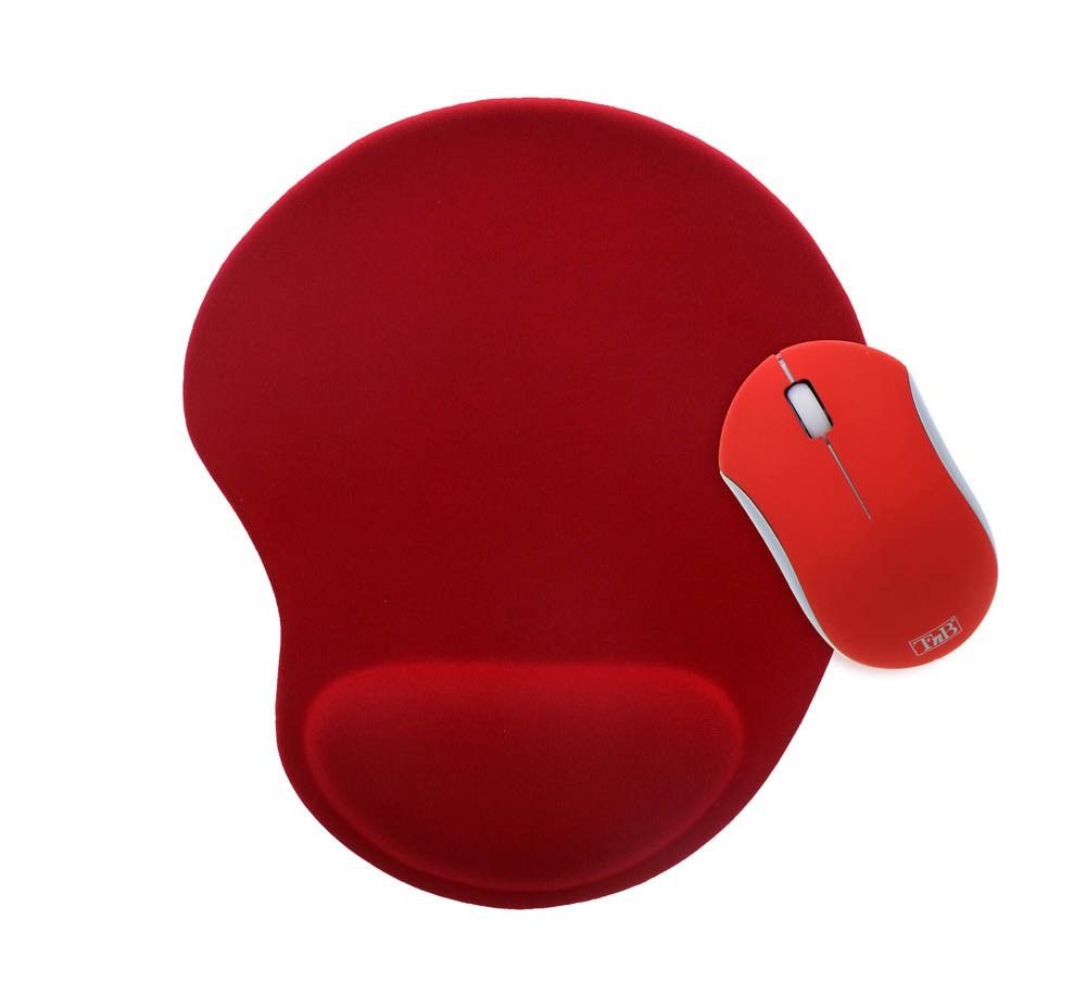 RED RUBBY PACK + ERGO MOUSEPAD