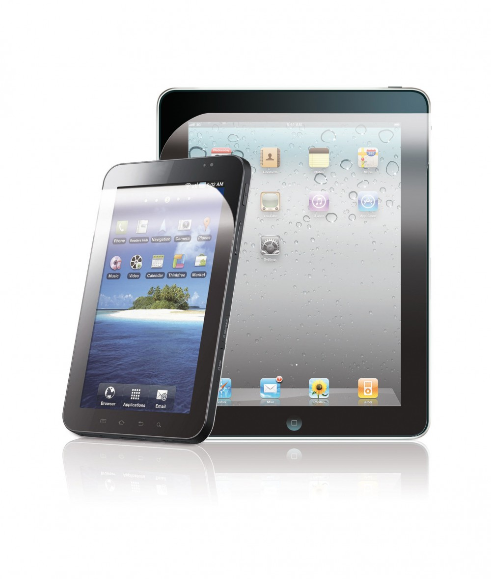 2 TABLET PC SCREEN PROTECTIONS