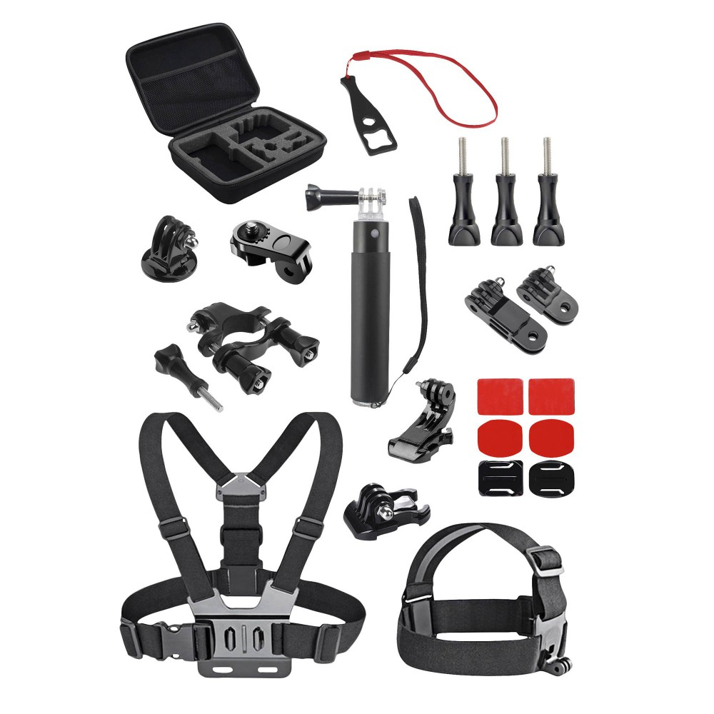 PACK OF 23 ACCESSORIES FOR SPORTS CAM