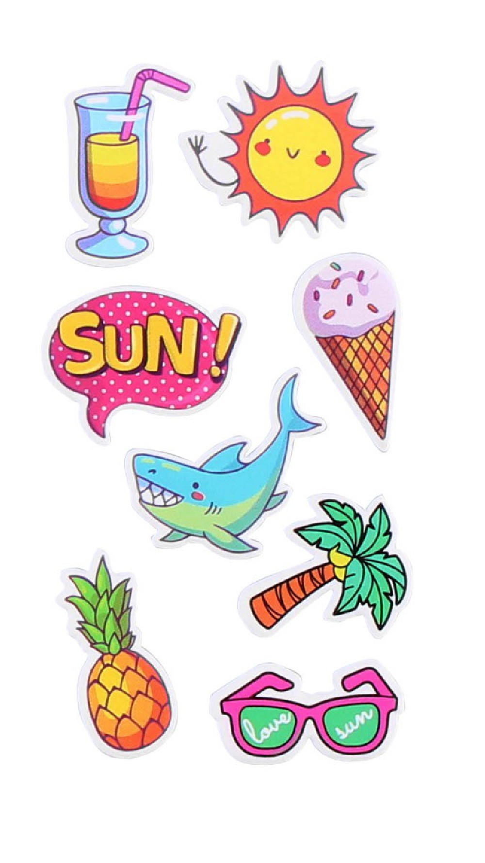 STICKERS SMARTPHONE SUMMER