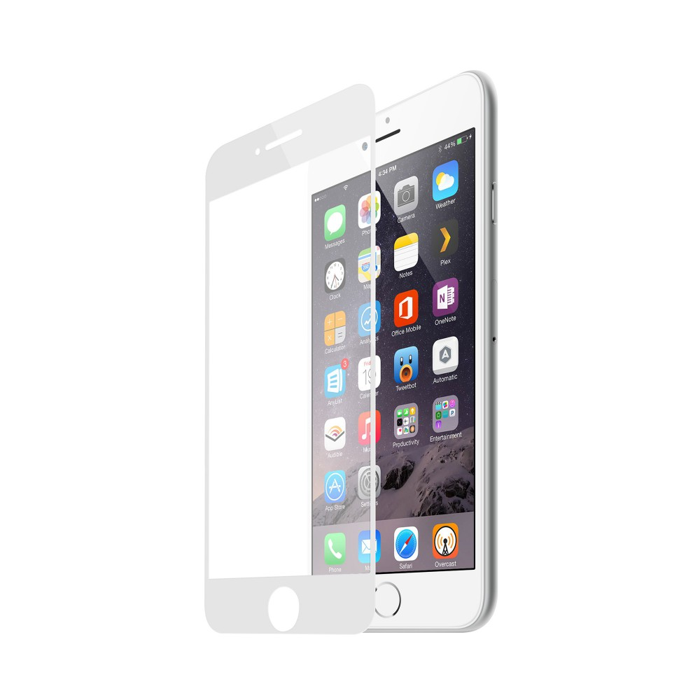 FULL TEMPERED GLASS PROTECTION FOR IPHONE 7/8 WHITE
