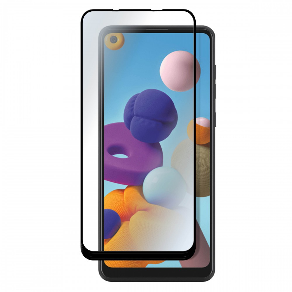FULL TEMPERED GLASS PROTECTION FOR SAMSUNG A21