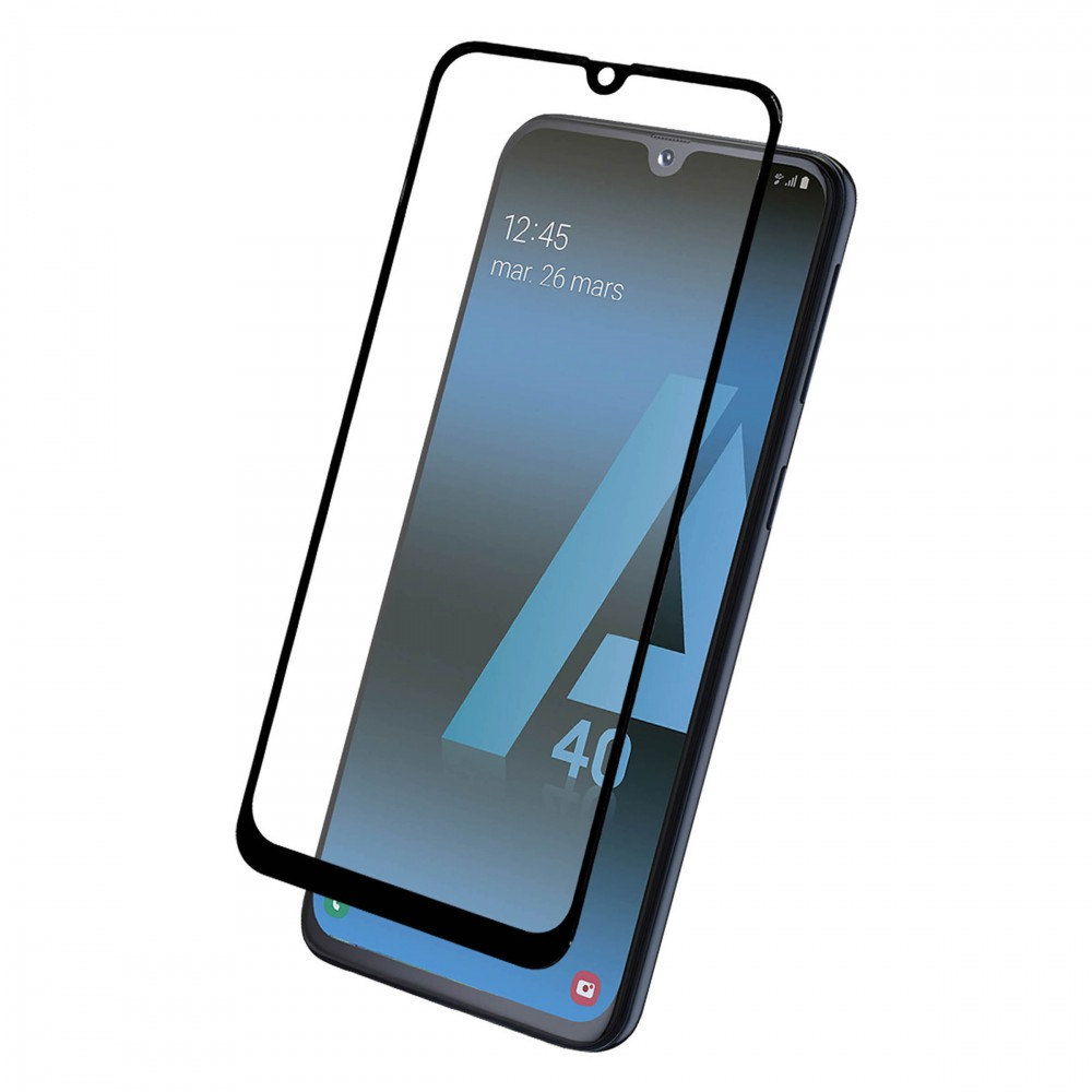 FULL TEMPERED GLASS PROTECTION FOR SAMSUNG A40