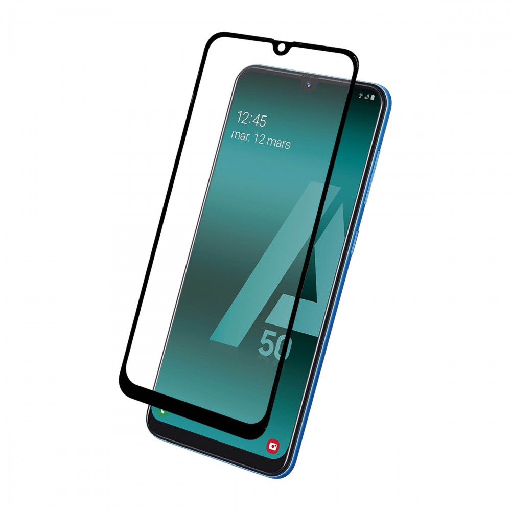 FULL TEMPERED GLASS PROTECTION FOR SAMSUNG A50
