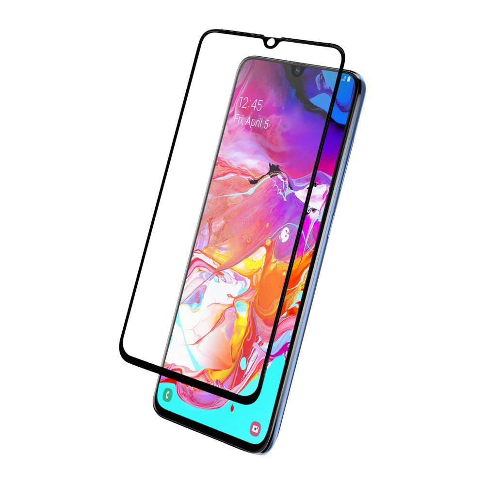 FULL TEMPERED GLASS PROTECTION FOR SAMSUNG A70