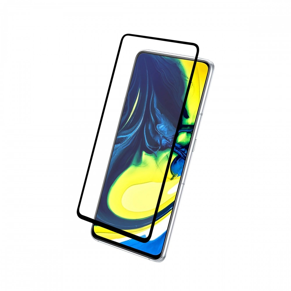FULL TEMPERED GLASS PROTECTION FOR SAMSUNG A90 / A80