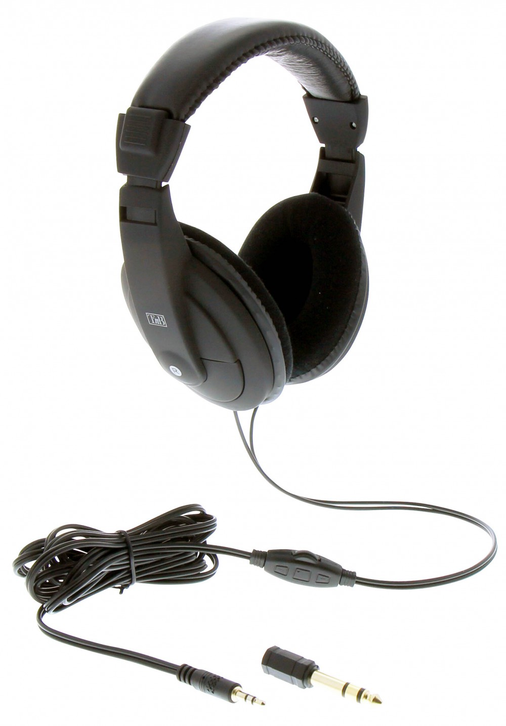 WIRED TV HEADPHONES + EXTENSION CABLE 4 M