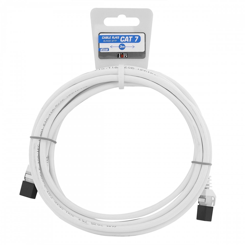 RJ45 CAT 7 CABLE. 3M (HANGING TAG)